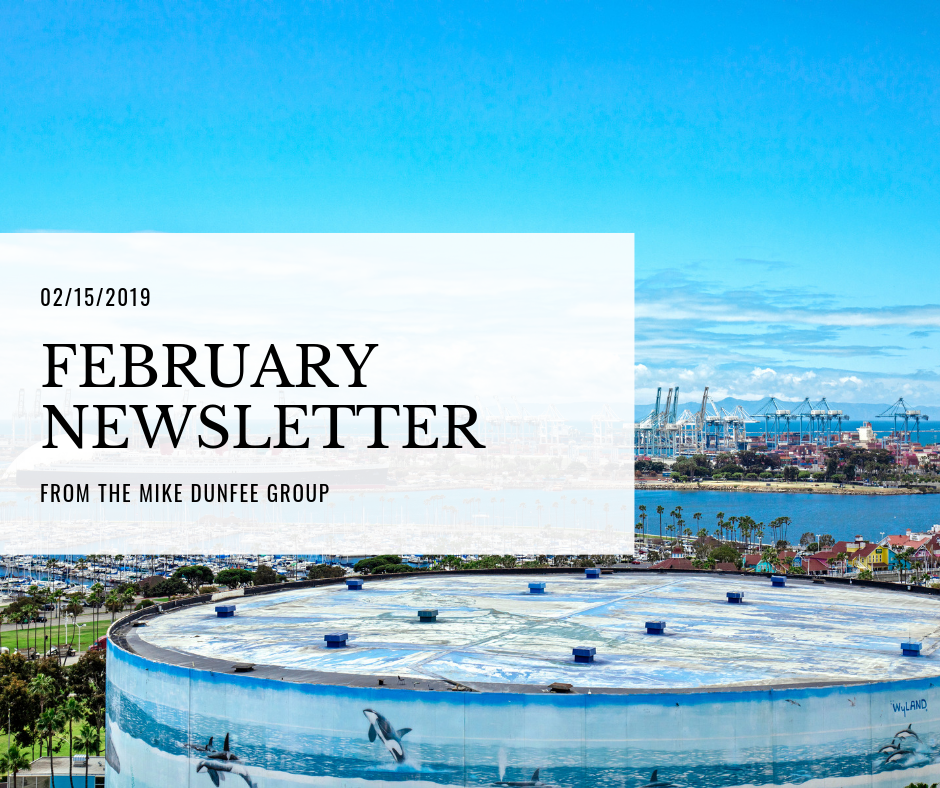 02/15/2019 - February Newsletter from The Mike Dunfee Group
