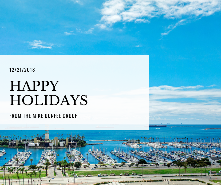 12/21/2018 - Happy Holidays from the Mike Dunfee Group